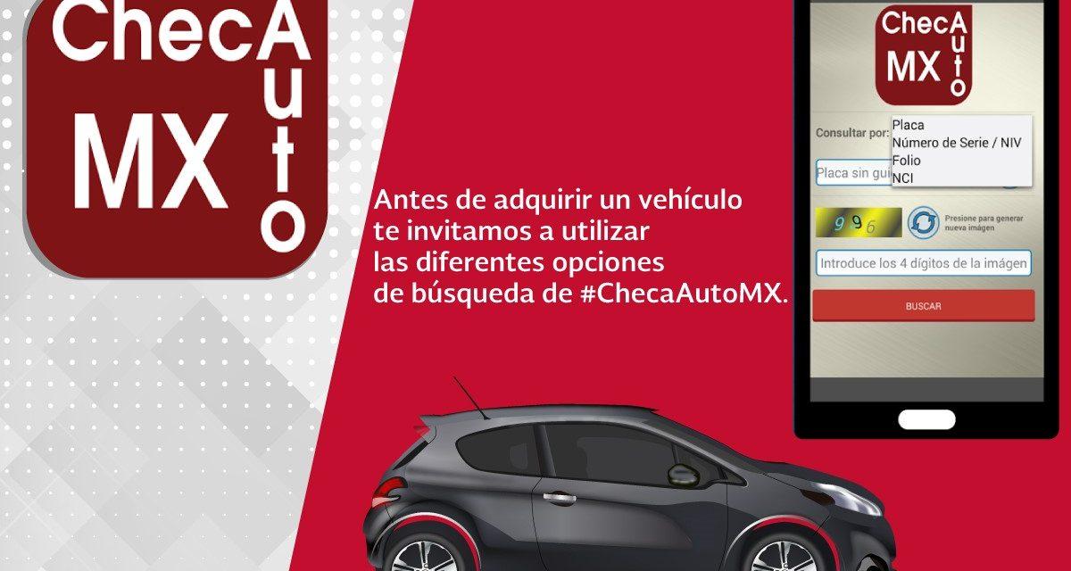Inicia operaciones la aplicación  digital ChecAutoMX en Colima