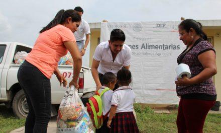 DIF Estatal en coordinación con la delegación de la Secretaría de Desarrollo Social atiende a 5 mil 089 infantes de 6 municipios del estado