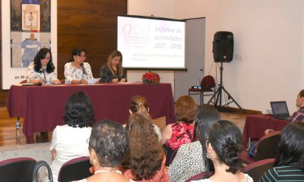 Igualdad, medio para acceder  a un entorno de paz: ACU; Guillermina Araiza rindió su segundo informe de labores