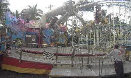 Inspecciona PC Estatal restaurantes y juegos  mecánicos en la Feria de Todos los Santos