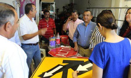 Felipe Cruz exhorta a funcionarios municipales a garantizar la seguridad pública y mejorar vialidades