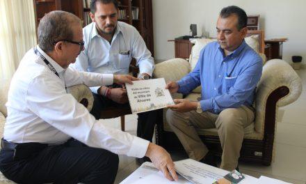 Felipe Cruz se reúne con delegados federales de Infonavit e Inegi