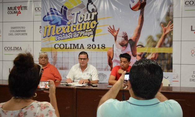 Este viernes arranca el Circuito Mexicano  de Voleibol de Playa en Colima: Incode