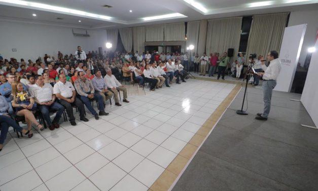 Armería tiene mucho que aportar al Estado, dice el gobernador
