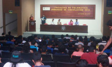 Arrancan Jornadas de Vinculación  de la Facultad de Telemática