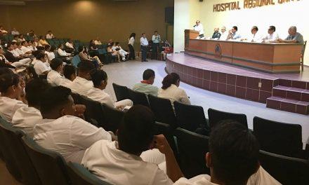 Realizan Foro sobre alcoholismo y  adicciones en el Hospital Regional