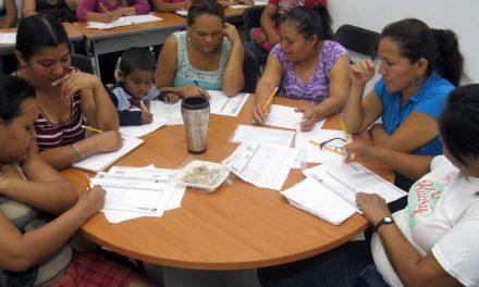 Buscan abatir rezago con  Educación Extraescolar, en colonias y comunidades