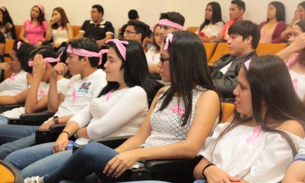 Concientizan a mujeres jóvenes en  prevención del cáncer de mama