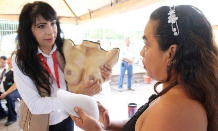 #DateUnaMano para reforzar  prevención de cáncer de mama