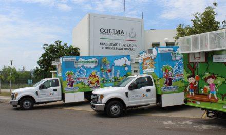 En Unidades Móviles de Salud orientan  a 26 mil niños en alimentación saludable