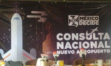 Este jueves arranca la consulta nacional sobre  el nuevo aeropuerto de la Ciudad de México