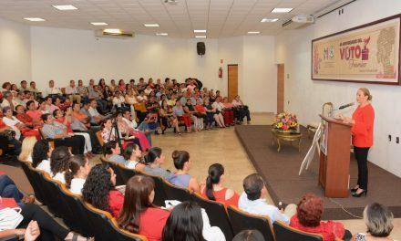 """Conmemora ONMPRI el """"65 Aniversario del Voto Femenino"""""""