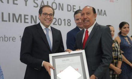 Entrega Gobernador Premio Estatal del Deporte; también otorgó Constancias de ingreso al Salón de la Fama del Deporte
