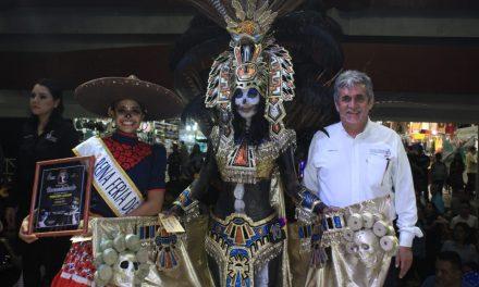 Realizan Concurso de Catrinas en el  Domo Central de la Feria de Colima