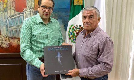 """Este martes  Se presentará el libro """"Parque Nacional  Revillagigedo: Refugio de Gigantes"""""""