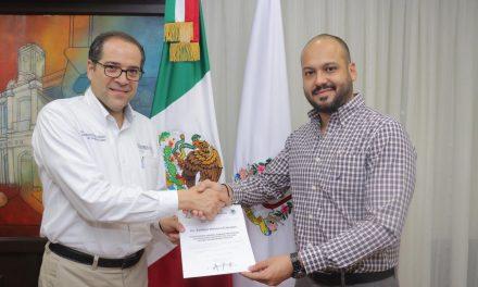 Nombra José Ignacio Peralta a Coordinador Administrativo del Sistema de Seguridad Pública