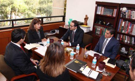 Gobernador gestiona recursos  y proyectos para Colima