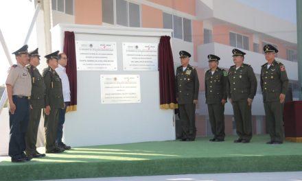 Inauguran Gobernador y titular de la Sedena  instalaciones de la XX Zona Militar