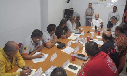 Colima, primer municipio en instalar el Consejo de Protección Civil.