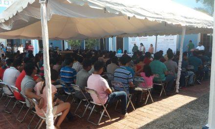 Aproximadamente 400 jóvenes participan en el sorteo del Servicio Militar