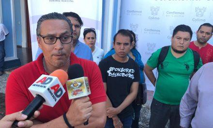 Denuncian hostigamiento trabajadores despedidos del Ayuntamiento de Colima