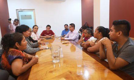 Nuevamente acude al Congreso grupo de comuneros de  Zacualpan; insiste en denunciar agresiones en su contra
