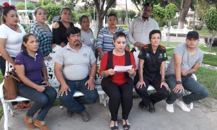 Exigen trabajadores basificados  Ayuntamiento de Villa de Álvarez  que se les deposite su quincena
