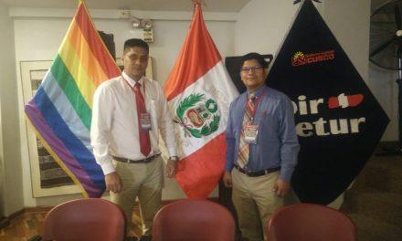 Reporteros colimenses representan a FEMECRODE en Perú