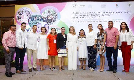 DIF Estatal Colima participa en Encuentro Nacional de Alimentación