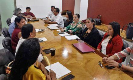 Dialogantitulares de dependencias de la Administración Pública Estatal, con diputados