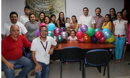 Voluntariado de la Coordinación de Comunicación Social se suma al Pelotón 2018