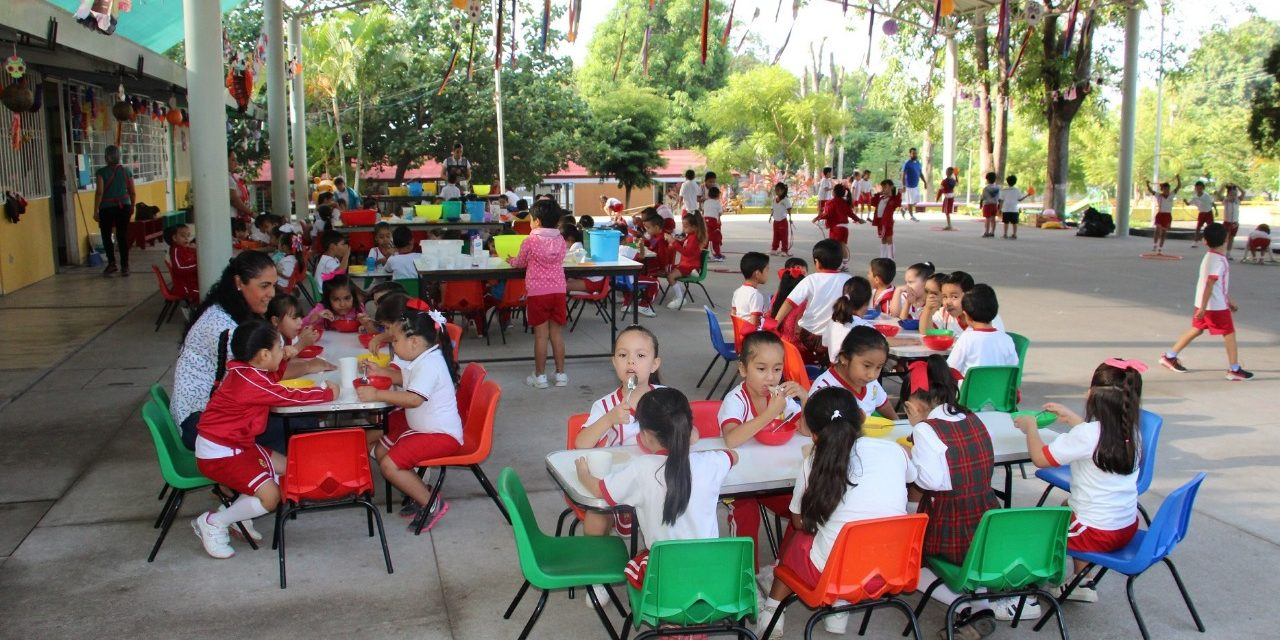 Otorgó Gobierno del Estado más de 7 millones  de raciones alimentarias a infantes: DIF Estatal