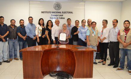 La Junta Distrital Ejecutiva 01 de Colima, recibe estímulo como la mejor del país
