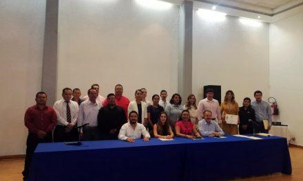 Concluye diplomado en Seguridad y  Salud en el trabajo, en Manzanillo