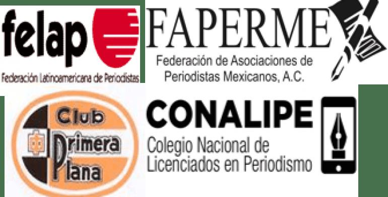 FAPERMEX emite comunicado conjunto por el asesinato de hijo de periodista y rescate de otro colega