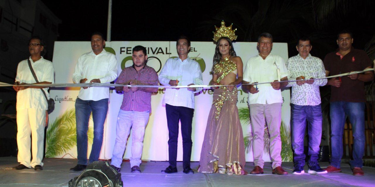 Secretario de Turismo encabezó inauguración del Segundo Festival del Coco