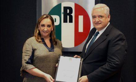 NOMBRA RUIZ MASSIEU A LUIS ANTONIO GODINA  NUEVO SECRETARIO DE FINANZAS DEL CEN DEL PRI