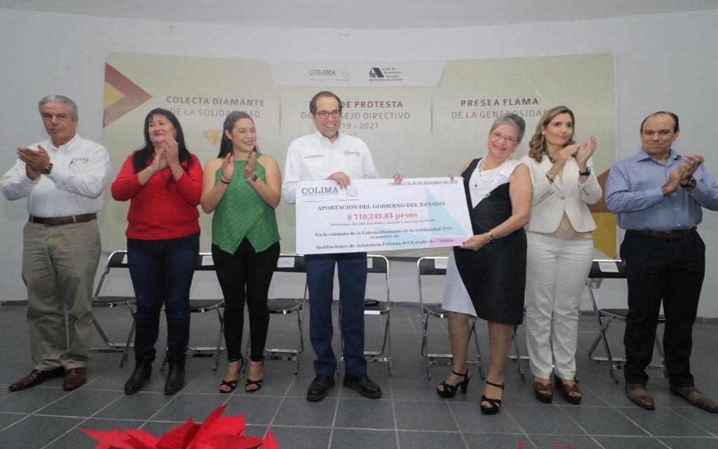 """Entrega JIPS """"La Flama de la Generosidad""""; cierra Colecta Diamante de la Solidaridad"""