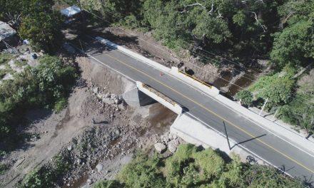 En Cuauhtémoc  Entrega Gobernador puentes que  unen El Trapiche y San Joaquín