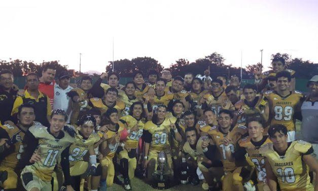 Club Jaguares gana Torneo de Futbol Americano