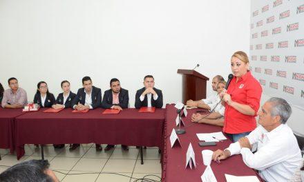 Los jóvenes están llamados a ser el motor  del cambio del PRI: Lizet Rodríguez