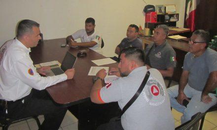 Coordina Protección Civil acciones  para operativo vacacional decembrino