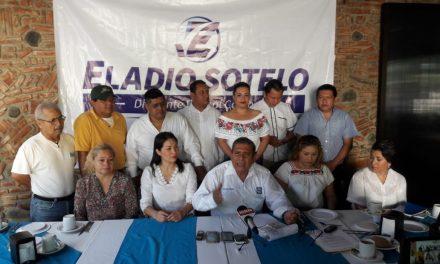 Eladio Sotelo desmiente rumor de que declinó a sus aspiraciones de dirigir a los panistas