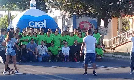 De manera exitosa se realizó la Carrera por tu Salud Gaps 2018, en Tecomán