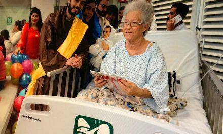 La delegación del IMSS organizó recital navideño en el Hospital General de Zona No. 1