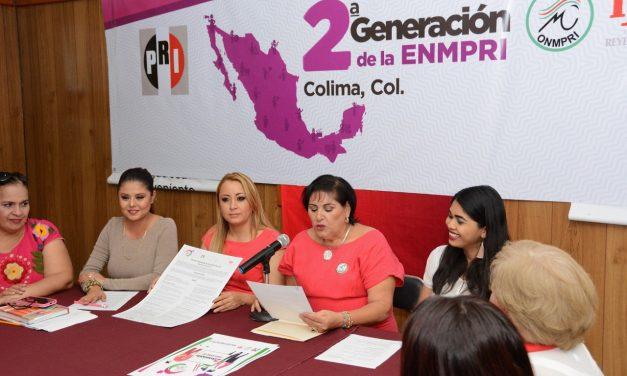 Lanza ONMPRI convocatoria para formar parte de la segunda generación de la Escuela Nacional de Mujeres Priístas