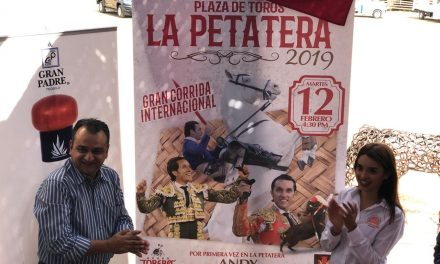 """Andy Cartagena, """"El Zapata, """"El Conde"""", Fabián Barba, Antonio Ferrera y Carlos Rodríguez, en las dos corridas formales de La Petatera"""