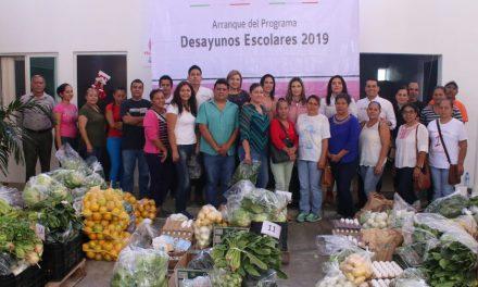 Gobierno del Estado aportará recursos propios  al programa Desayunos Escolares