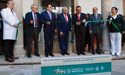 """El Presidente de México y el Director del Seguro Social presentan el plan """"IMSS: bienestar para toda la vida"""""""