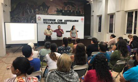 Felipe Cruz Apoyará a Artesanos Villalvarenses